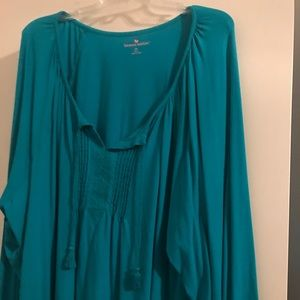 Woman With3xl jewel one long sleeve top